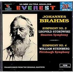 Johannes Brahms: Symphonies Nos. 3 & 4