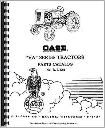 Case VAO Tractor Parts Manual: Amazon.com: Industrial