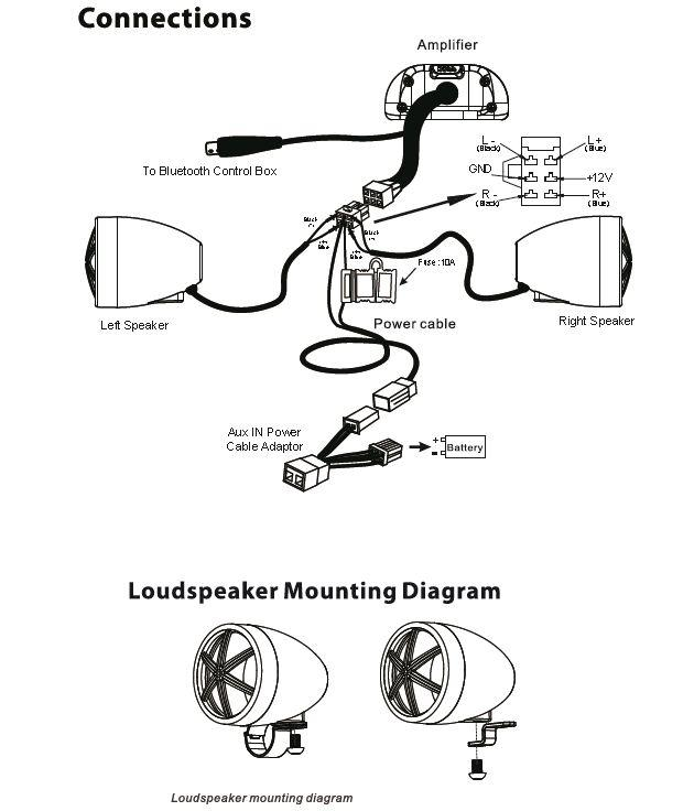 Kuryakyn Bluetooth Speaker Wiring Diagram