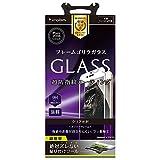 Simplism iPhone7 Plus フィルム フレームゴリラガラスフィルム ホワイト  TR-GLIP165-GOFMCCWT