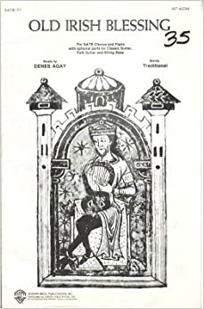 Amazon.com: Old Irish Blessing. SATB. Words traditional