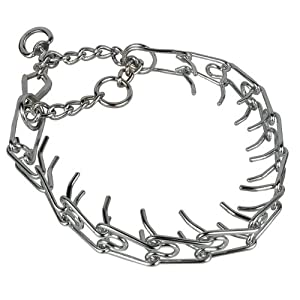 Amazon.com : Leather Brothers Spiked Training Collar