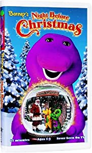 Night Before Christmas Spanish VHS Barney Movies Amp TV