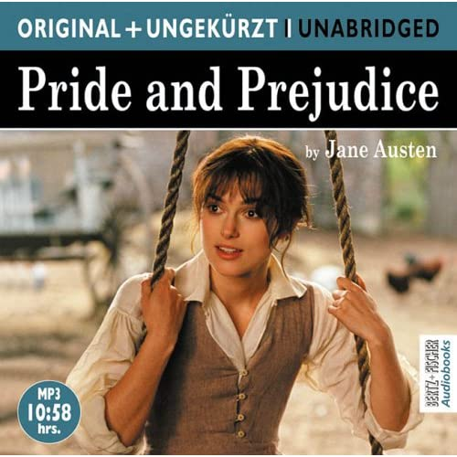 Cover Pride and Prejudice, Hörbuch