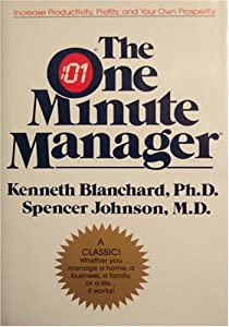 "Cover of ""The One Minute Manager"""