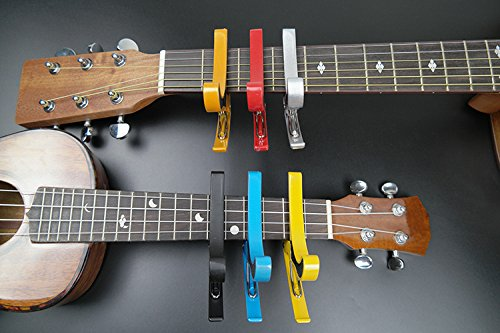 HOT-SEAL-Colorful-Durable-Metal-Guitar-Ukulele-Generic-Capo-Quick-Change