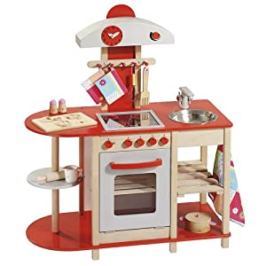 howa wooden toy kitchen 48152 Amazoncouk Toys  Games