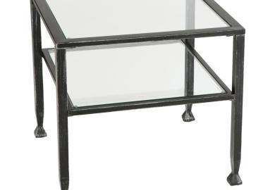 Black Modern End Tables