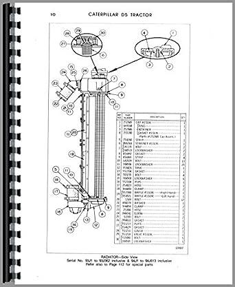 Caterpillar D5 Crawler Parts Manual: Amazon.com
