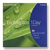 Cooper Vision Biomedics 1 Day Tageslinsen weich, 90 Stück / BC 8.7 mm / DIA 14.2 / -2,50 Dioptrien
