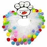 """Mirage Pet Products Birthday Fuzzy Wuzzy Smoochers XL (20"""") Fuzzy"""