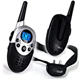 Dog Training Collar With Remote - 8 Levels of Shock and Vibration Correction Plus Sound Mode - Fully Adjustable Electric E Collar With Remote for Large, Medium, and Small Dogs - Best Puppy Training and Dog Obedience Training - Wireless Rechargeable and Water-Resistant Anti Bark Collar with Range up to 800M Lets You Train 2 Dogs - 100% Satisfaction Best Lifetime Guarantee!