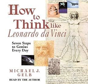 """Cover of """"How to Think like Leonardo da V..."""