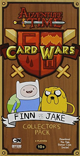 Adventure Time Card Wars Game Collector Pack Finn vs. Jake