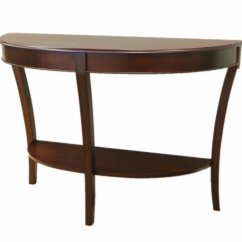 Half Moon Sofa Table Jonathan Louis Price Frenchi Home Furnishing Round