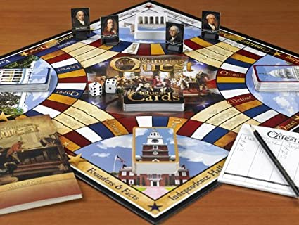Constitution Quest Game