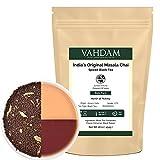 Vahdam India's Original Masala Chai - Spiced Chai Tea,16 Oz (Makes 230-250 Cups) - Delicious Blend of Assam CTC Black Tea- Cardamom, Cinnamon, Black Peppercorn & Cloves - Perfect Tea for Chai