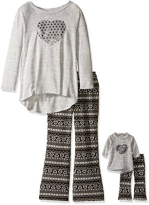 Dollie-Me-Big-Girls-Knit-Tunic-with-Sequin-Heart-and-Nordic-Flare-Legging-GreyBlack-12