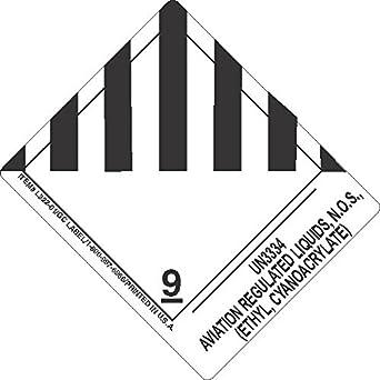 GC Labels-L322P3061, UN3334 Aviation Regulated Liquids, N