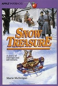 """Cover of """"Snow Treasure"""""""