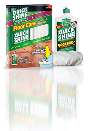 Quick Shine Starter Kit Contains One 16Ounce Floor Finish