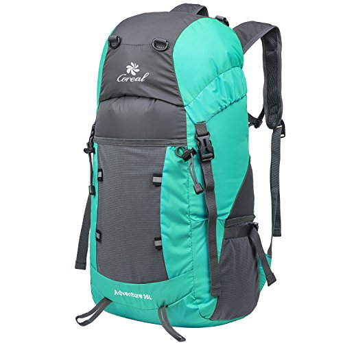 Coreal Hiking Foldable Backpack Packable Lightweight Daypack 35L ...