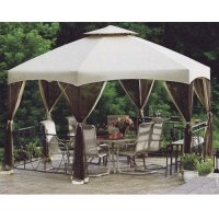 "Dutch Harbor Replacement Gazebo Canopy 174"" W X 150""d X 46"