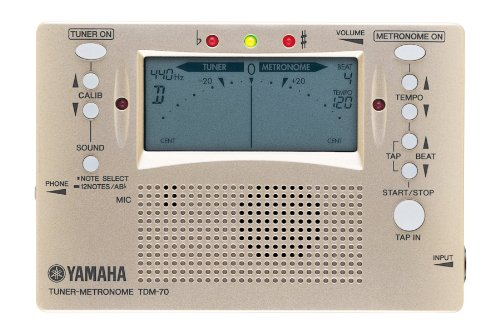 YAMAHA チューナー&メトロノーム TDM-70