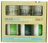 Salt 424 Three Grinder Pack 100% Organic Salts, Rosemary, Dill and Garlic, 25.11 Ounce