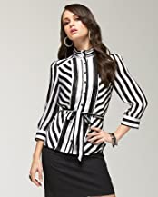 Silk Necktie Blouse