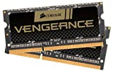 Corsair Vengeance 16GB (2x8GB)  DDR3 1600 MHz (PC3 12800) Laptop  Memory (CMSX16GX3M2A1600C10)