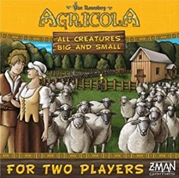 Z-Man Games 70970ZMG Agricola All Creatures, Big and Small