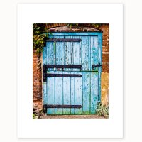 8x10 Matted Photographic Print, Old Rustic Barn Door Wall ...