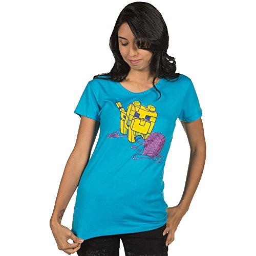 Minecraft Ocelot Kitten Women's Short Sleeve T-Shirt Small