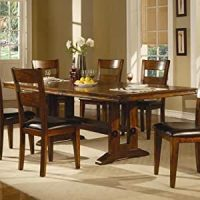 Amazon.com - Lavista Rectangular Formal Dinner Table ...