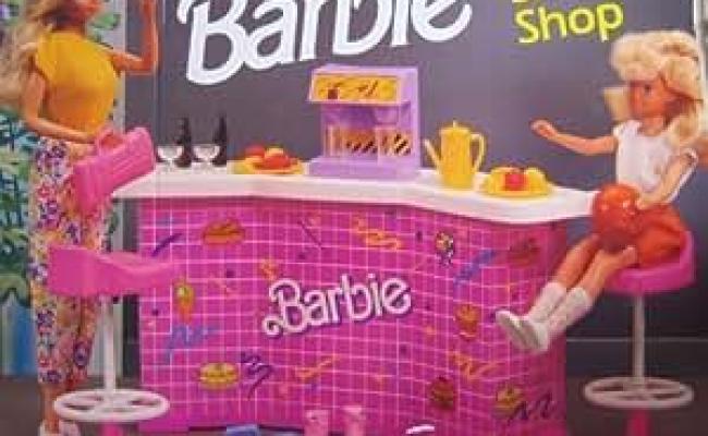 Amazon Barbie Snack Shop Playset W Counter Soda