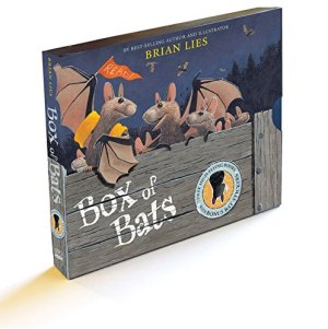 Box of Bats Gift Set by Brian Lies | Featured Book of the Day | wearewordnerds.com