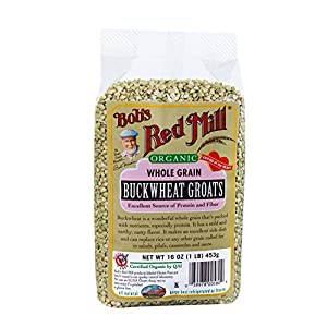 Amazoncom Bob39s Red Mill Organic Whole Grain Buckwheat
