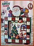 Wooden ADVENT 木製アドベントカレンダー 【サンタクロース】 クリスマスカウントダウンカレンダー