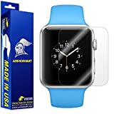 ArmorSuit MilitaryShield For Apple Watch 38mm Screen Protector (Series 1) [Full Coverage][2 Pack] w/ Lifetime Replacements Anti-Bubble Ultra HD Clear