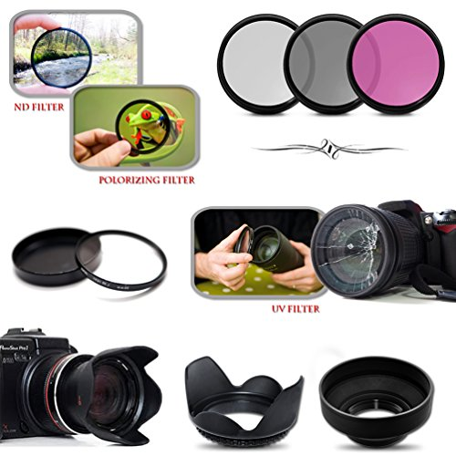 Mega Pro Accessory Kit for Canon EOS 70D DSLR Camera Includes High Definition 2X Telephoto Lens