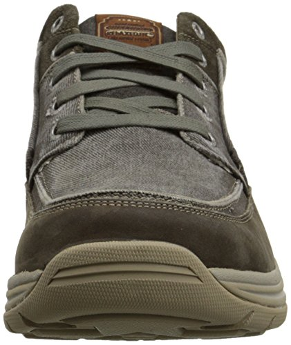 Skechers USA Men's Expected Bremo Chukka Boot, Charcoal, 7 M