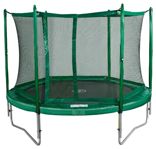 spring fun kinder trampolin mit sicherheitsnetz proline. Black Bedroom Furniture Sets. Home Design Ideas