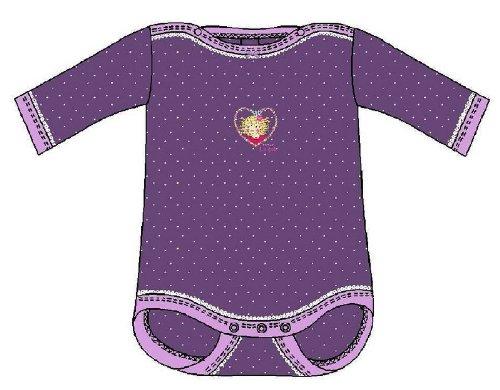 Schiesser Mädchen Baby-Body 1/1 Langarm - 130412