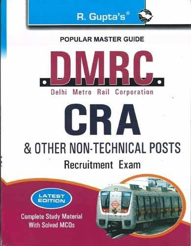 DMRC: CRA Recruitment Exam Guide (Popular Master Guide)