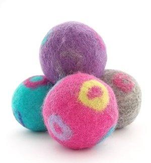Felted Shea Butter Skin Peeling Soap Balls