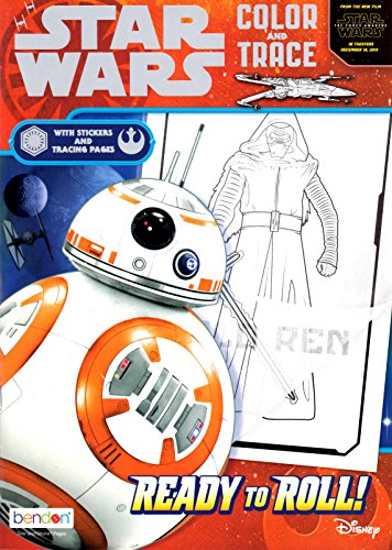 Ready to Roll! (Star Wars: the Force Awakens: Color and Trace) - Star Wars