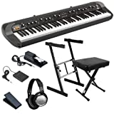 Korg SV-1 73 Stage Piano ESSENTIALS BUNDLE w/ Stand, Bench & Pedals