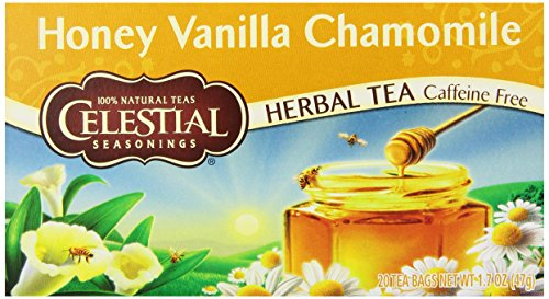 Celestial Seasonings Honey Vanilla Chamomile Tea 20 Count
