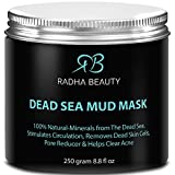 Dead Sea Mud Mask of face & body 8.8 oz - The most effective 100% natural facial treatment to minimize pores, reduce wrinkles, decrease acne and Improve skin Complexion